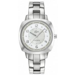 Correa de reloj Lacoste 2000601 / LC-47-3-14-2233 Acero Acero inoxidable 18mm