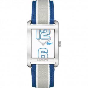 Correa de reloj Lacoste 2000693 / LC-51-3-14-2261 Cuero Azul 20mm