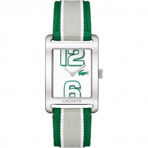 Correa de reloj Lacoste 2000696 / LC-51-3-14-2261 Cuero Verde 20mm