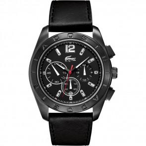 Correa de reloj Lacoste 2010609 / LC-53-1-34-2302 Cuero Negro 24mm
