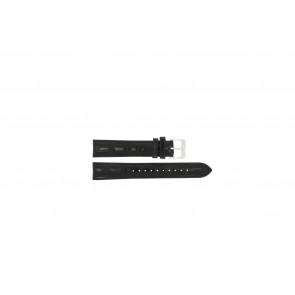 Lorus correa de reloj RR033X Piel Negro 18mm