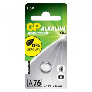 Pila GP A76 - LR44 - V13GA 1,5V alkaline 11.6 mm x 5.4 mm