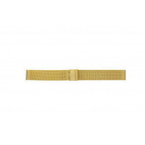 Correa de reloj WoW MESH18.1.5 Acero Chapado en oro 18mm