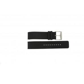 Correa de reloj Michael Kors MK8040 / MK8055 Caucho Negro 22mm
