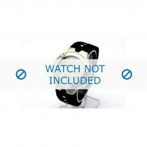 Movado correa de reloj 84c51892.0 Caucho Negro