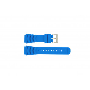 Nautica correa de reloj A18631 Goma Azul claro 22mm