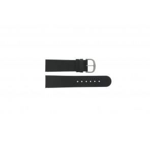 Danish Design correa de reloj IQ13Q586 / IV13Q843 Cuero Negro 22mm