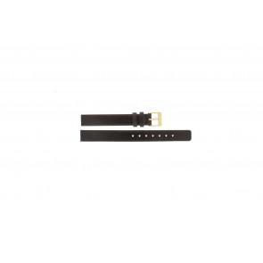 Skagen correa de reloj 358XSGLD Cuero Marrón 12mm