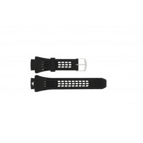Adidas correa de reloj ADP6002 Goma Negro 19mm