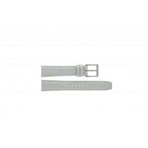 Correa de reloj DKNY NY8585 Cuero Gris 18mm