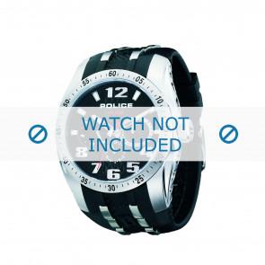 Police correa de reloj PL-12087J-02 Caucho / plástico Negro