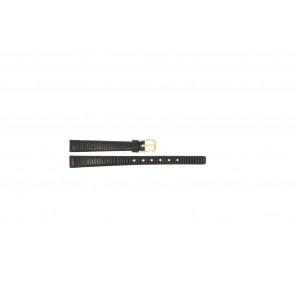 Correa de reloj Pulsar PS502X Cuero Marrón oscuro 10mm