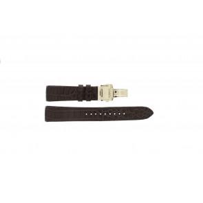 Correa de reloj Seiko 5D88-0AA0 / SRX004P1 / 4A072JL Cuero Marrón 21mm