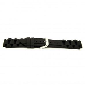 Correa de reloj WoW XH12 Silicona Negro 22mm
