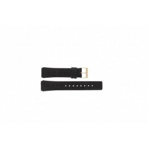 Skagen correa de reloj 331XLRLD / 331XLRLDO Cuero Marrón 19mm + costura marrón