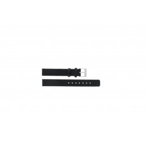 Skagen correa de reloj 355SSLW Piel Negro 14mm