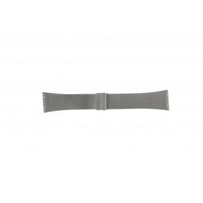 Skagen correa de reloj 696XLTTM Metal Plateado 32mm