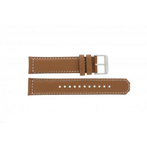 Correa de reloj Seiko SRPA75K1 / 4R35 01N0 / M0FP71BN0 Cuero Cognac 21mm