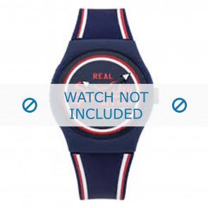 Superdry correa de reloj SYG198UR Plástico Azul
