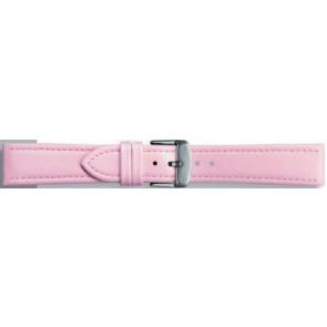 Cuero genuino rosa 18mm 283