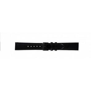 Timex correa de reloj T2N790 Piel Negro 18mm