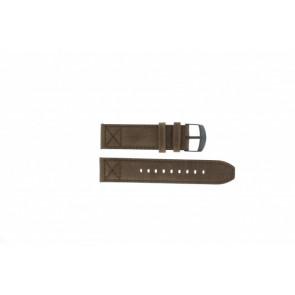 Timex correa de reloj T49986 Piel Marrón 22mm