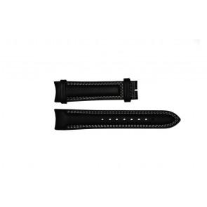 Correa de reloj Breil TW0678 Cuero Negro 22mm