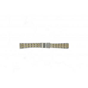 Morellato correa de reloj U0220184 Acero Palteado 18mm