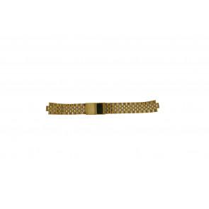 Morellato correa de reloj U0492125   Acero Dorado 18mm