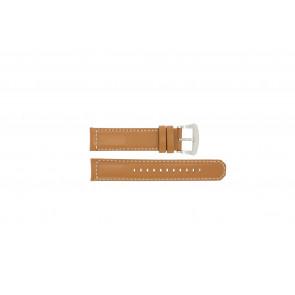 Correa de reloj Seiko V172-0AG0 / SSC081P1 / L088011J0 Cuero Marrón 21mm