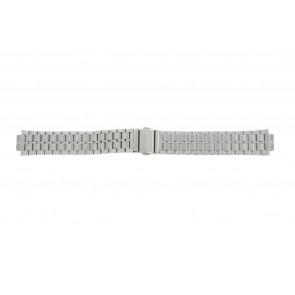 Lorus correa de reloj VX43-X092 / RXN01DX9 Metal Plateado 18mm