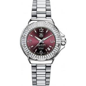 Correa de reloj Tag Heuer WAC1219-BA0852 Acero Acero