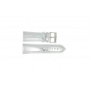 Correa de reloj Universal 369.31 Cuero Acero 28mm