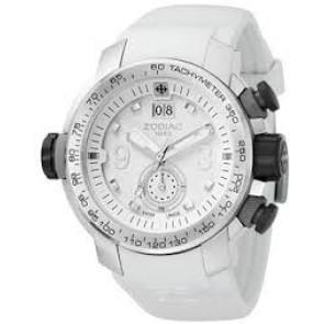 Zodiac correa de reloj ZO8511 Caucho Blanco