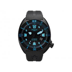Correa de reloj Zodiac ZO8018 Caucho Negro 21mm