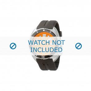Correa de reloj Zodiac ZO8002 / ZO8001 Caucho Negro 21mm